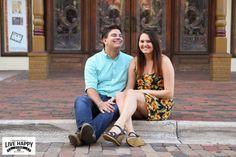 Jessica + Trey | Church Street Station Engagement Session | Downtown Orlando | Orlando Wedding Photography | Live Happy Studio | www.livehappystudio.com