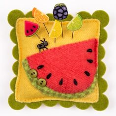 Summer Treat Slider – Watermelon Pincushion Kit