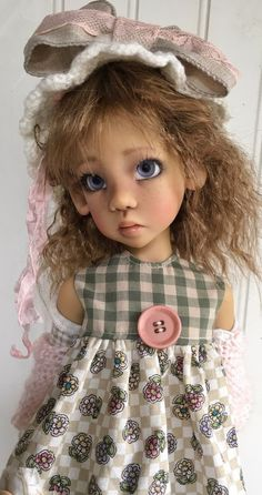 Kaye Wiggs BJD outfit~fits MSD Layla body