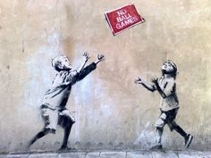 'Stealing Banksy?' is an Exhibition and Auction of Banksy's Street Art #streetart #graffiti trendhunter.com