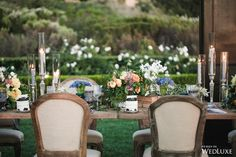WedLuxe– An Oceanside Styled Shoot Inspired By European Romance   Photography by: Jessica Claire Photography Follow @WedLuxe for more wedding inspiration!