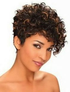 Black Short Curly Hairstyles Gorgeous Curly Hair Short Haircuts  Hair And Colour  Pinterest  Short