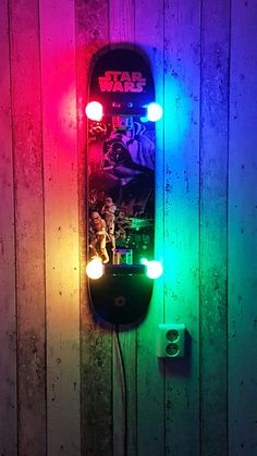 Skateboard Lamp skateboard lamp fixture with blind graphic | lamps and lighting