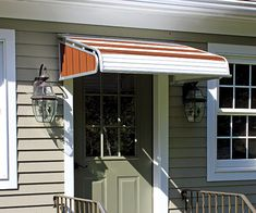 NuImage Awnings aluminum door canopies add beauty to your entry way & A NuImage Aluminum Awning or Door Canopy can help keep you dry and ...