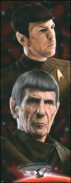 Spock by caldwellart #startrek #starfleet #scifi #sciencefiction #art #spock #vulcan
