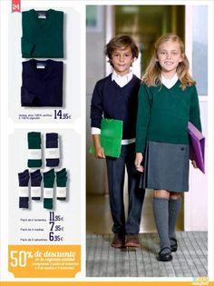 Uniformes escolares 2014 de El Corte Inglés