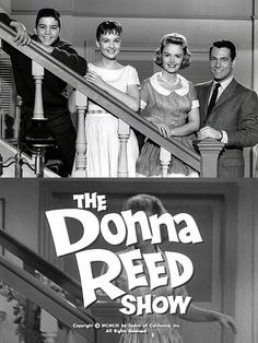 The Donna Reed Show (1958-66 ABC) — starring Reed as 'Donna Stone', Carl Betz as her husband 'Dr. Alex Stone', Paul Peterson as son 'Jeff' and Shelley Fabares as daughter 'Mary'.