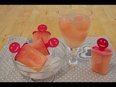 Rezept: Grapefruit ☼ Eis am Stiel mit Agavensirup ☼ Fruchteiswürfel ☼ GLYX geeignet & Vitaminbombe - YouTube