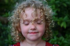"""Hair Care 101 for Curly-Haired Tots ... wish I had found this article 2 years ago!  GREAT advice!  Author says """"there are days when I let the haircare slip and my eldest runs around society looking as though no one really loves her with her wild tangle of frizzy hair"""" ... yep, that's me!"""