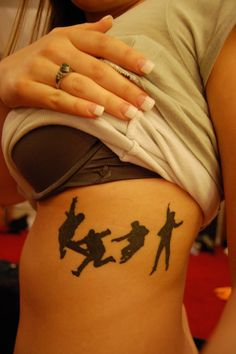 My favorite Beatles pose. This is an awesome tattoo