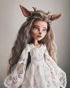 """163 Likes, 16 Comments - Юля Дибижева (@julia_dibizheva) on Instagram: """"Уже шесть лет я коллекционирую авторских кукол и игрушки ручной работы. В моей небольшой коллекции…"""""""