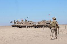 Chilean Leopard 2A4CHL main battle tanks [3456 x 2304]
