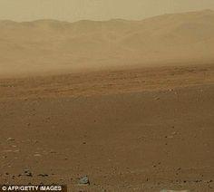 NASA photo of Mars from the rover Curiosity