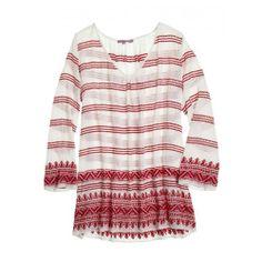 Ziabird — Donara Hand Embroidered Cotton Tunic by Calypso St. Barth