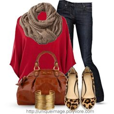 """Fall Outfit #5"" by uniqueimage on Polyvore"