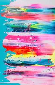 color canvas drops art craft paint - Yago Hortal