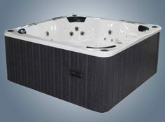 Multiple Gold Award Winning Hot Tubs For Sale UK at Hot Tub Suppliers. Balboa approved & BISHTA affiliated offering the best hot tub service, sales & support. Hot Tub Service, Tubs For Sale, Wooden Steps, Sale Uk, Apollo, Spa, Luxury, Grey, Wood Steps