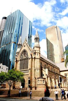 previous pinner: St Stephen's Cathedral, Brisbane i met my husband across the road at a night club Brisbane Gold Coast, Brisbane City, Coast Australia, Queensland Australia, Australia Travel, Cathedral Basilica, Saint Stephen, Old Churches, Place Of Worship
