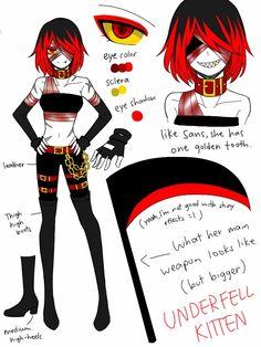 Character Unlocked: Underfell Kitten by CNeko-chan.deviantart.com on @DeviantArt