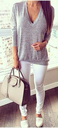 Love the white pants! Need to get some white pants asap, who cares if it's post labor day!?