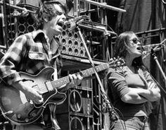Bob Weir and Donna Jean Godchaux - Grateful Dead