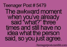 This happens to me all too often.