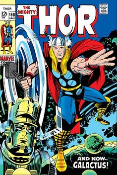 The Mighty Thor #160 by Jack Kirby | I think I have this one!