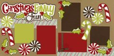 Christmas Family Fun Page Kit  Out on a Limb Scrapbooking