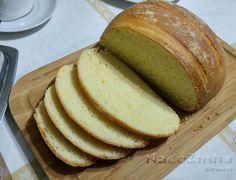 Pão de fubá e coco