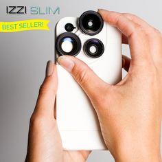 Izzi slim three lenses including fish eye!
