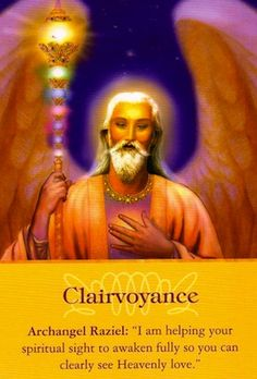 Angel Message from Archangel Raziel: Clairvoyance