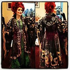 Castle Corsetry doing Winifred from Hocus Pocus