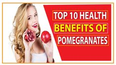 Top 10 Health Benefits Of Pomegranate Very Helpful For Alzheimer's Disease Protection 10 News, Alzheimers, Pomegranate, Health Benefits, Top, Granada, Pomegranates, Crop Shirt, Shirts