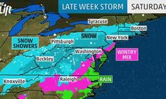 Rich Otto, lead forecaster at the National Weather Service's Weather Prediction Center, said some major cities will likely see a foot or more of snow. Others talked about two feet and more.