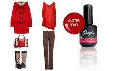 Thuya le rouge, Un look clásico, renovado gracias al efecto glitter, que... !calienta el invierno y te enamorará desde ya!