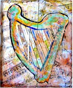 Harp of Gold: Art and Music for Kids Lesson - KinderArt