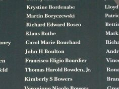 Carol Marie Bouchard was my moms friend and coworker she was on 1 of the planes that hit the trade towers