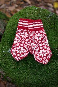 Clara Stickar: Selbuvotter Mittens Pattern, Knit Mittens, Knitted Shawls, Mitten Gloves, Easy Yarn Crafts, Pattern Design, Free Pattern, Needlework, Knitting Patterns