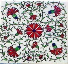 Iznik Tile yurdan.com Turkish Lamps, Turkish Tiles, Grand Bazaar, Cultural Center, Summer Garden, British Museum, Islamic Art, Garden Projects, Things To Come