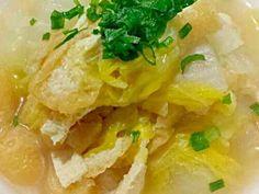 簡単 白菜と油揚げの煮物の画像