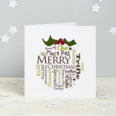 Christmas Card - Pack of Cards - Christmas Pudding - Personalised Handmade Xmas Cards Corporate Christmas Cards, Company Christmas Cards, Christmas Cards 2017, Christmas Card Packs, Personalised Christmas Cards, Xmas Cards, Holiday Cards, Christmas 2014, Greeting Cards