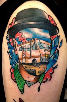 Unique portrait tattoo
