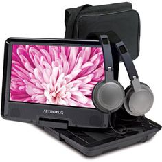 Audiovox DS9341PK Portable DVD Player 9In Swivel Screen