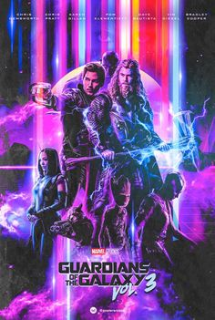 Guardians of the Galaxy 3 Fan Poster Has People Hyped for the Asgardians of the Galaxy Marvel Fan, Marvel Heroes, Marvel Marvel, Galaxy 3, Asgard, Fan Poster, Marvel Entertainment, Film Serie, Doctor Strange
