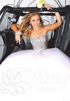 Tiffany 61118 at Prom Dress Shop