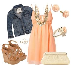 Cute Summer Dresses and Outfit Combinations