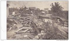 RP: Tornado Damage at CLINTON , Minnesota , June 27th 1908