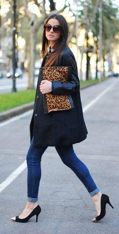 Blue-black coat