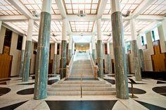 (Parliament House - Canberra