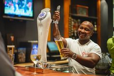 Enjoy a freshly poured Castle draught while your lady opts for a glass of Constantia Valley Sauvignon Blanc when you socialize at the local. Friday Night Lights, Sauvignon Blanc, Signature Cocktail, Cape Town, The Locals, Craft Beer, Castle, Restaurant, Smile
